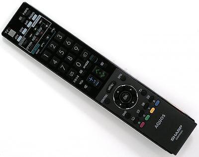 Original LED Remote SHARP GA857WJSA Brand NEW Free P&P