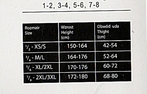 Bella trasparenti supporto lotti Lycra Calze Pelle NERO Plus size XL-XXXL 5-8
