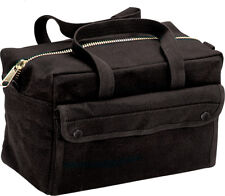 Canvas Tool Bag Brass Zipper Military Tote Army Heavy Duty Storage Carry  Handle d0b4c220c7c