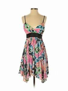 NWT-Hot-Kiss-Women-Pink-Casual-Dress-S