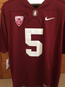 New-w-Tags-Stanford-Cardinal-Christian-McCaffrey-Jersey-Free-Ship