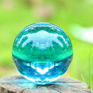 1 Stand 80mm Yellow Magic Crystal Rare Natural Quartz  Healing Ball Sphere