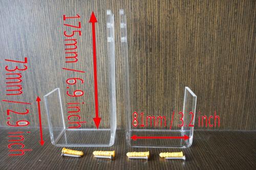 Skateboard Wall Mount Clear Acrylic Skateboard Storage Display Rack Wall Mount