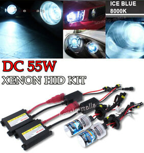 H11 55w ICE Blue Xenon Upgrade HID Front Fog Lamp Light Bulbs Replacement