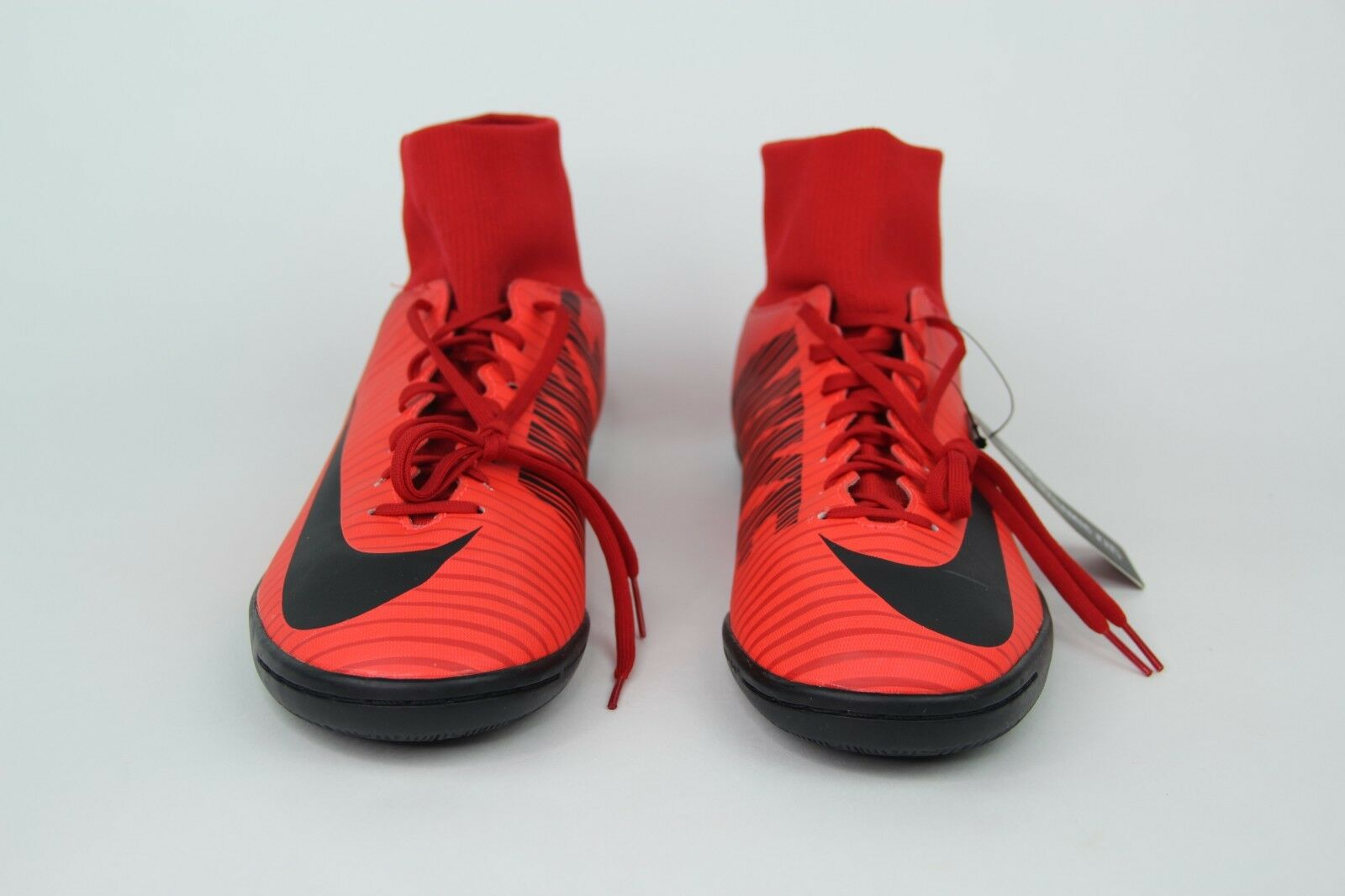 Nike MercurialX Victory VI 6 DF IC Indoor Soccer shoes Fire Red 903613-616 SZ 12