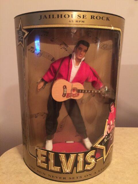 Elvis Presley Jailhouse Rock 45 RPM Doll #9146- NEW-1993 by Hasbro