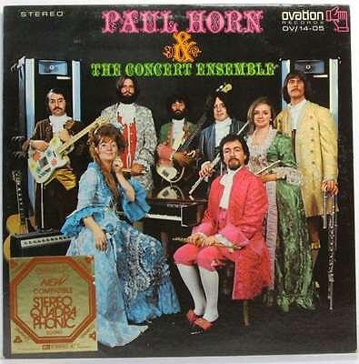 Paul Horn & The Concert Ensemble..Paul Horn.Vinyl.Very Good