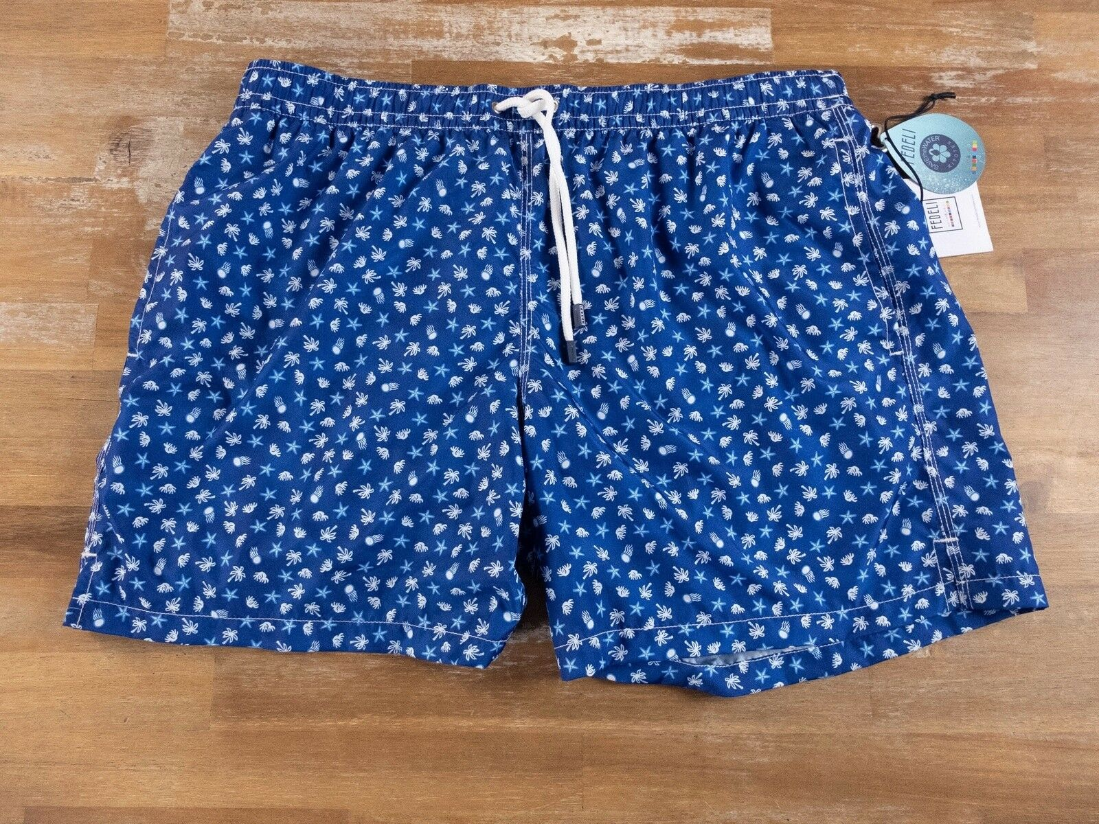 FEDELI bluee swim shorts authentic - Size XL - NWT