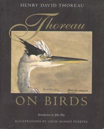 Thoreau on Birds, , Thoreau, Henry David, Very Good, 1998-02-01,