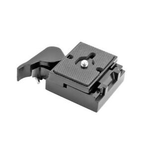 323-RC2-Quick-Release-Plate-Clamp-Adapter-for-Manfrotto-200PL-14-Camera-Tripod