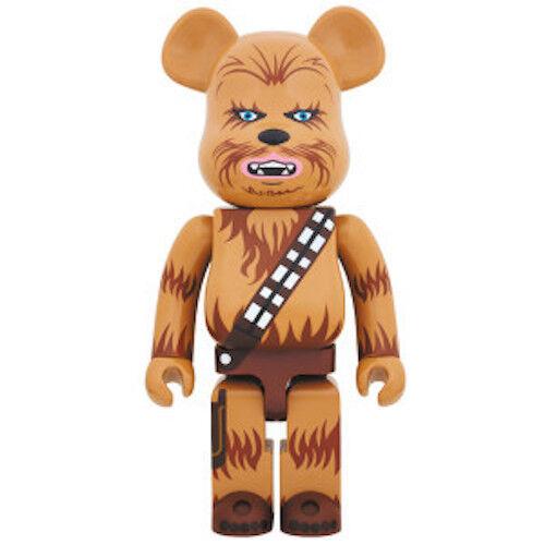 BE@RBRICK 1000% Rare CHEWBACCA Star Wars Medicom BearBrick Authentic From Japan