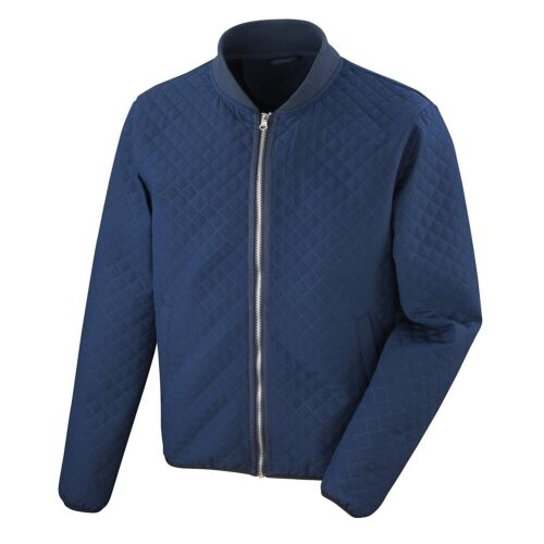 dettagli con Quilt Shell Windproof Shower Diamond Risultato Bomber Jacket Navy Soft xwn166IqX