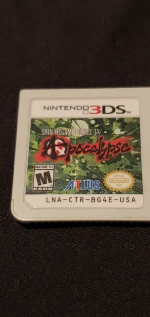 Shin Megami Tensei IV Apocalypse (Nintendo 3DS) Cartridge Only