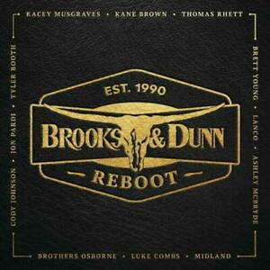 Details about Reboot by Brooks & Dunn Vinyl Sony Music Neotraditionalist  country 19APR19