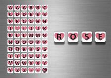 60x adesivi adesivo sticker alfabeto scrapbooking diy lettere auto moto r3 nomi
