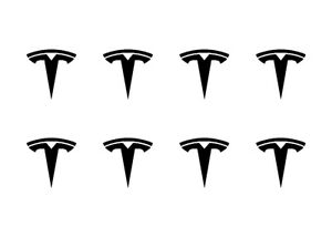 Details about Small Tesla Logo Vinyl Decals Phone Dashboard Mirror Laptop  Small Stickers