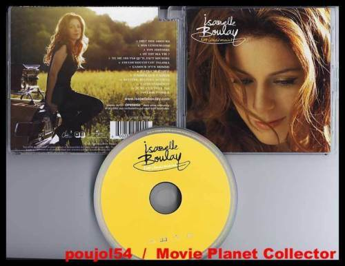 """ISABELLE BOULAY """"Nos Lendemains"""" (CD) 2008"""