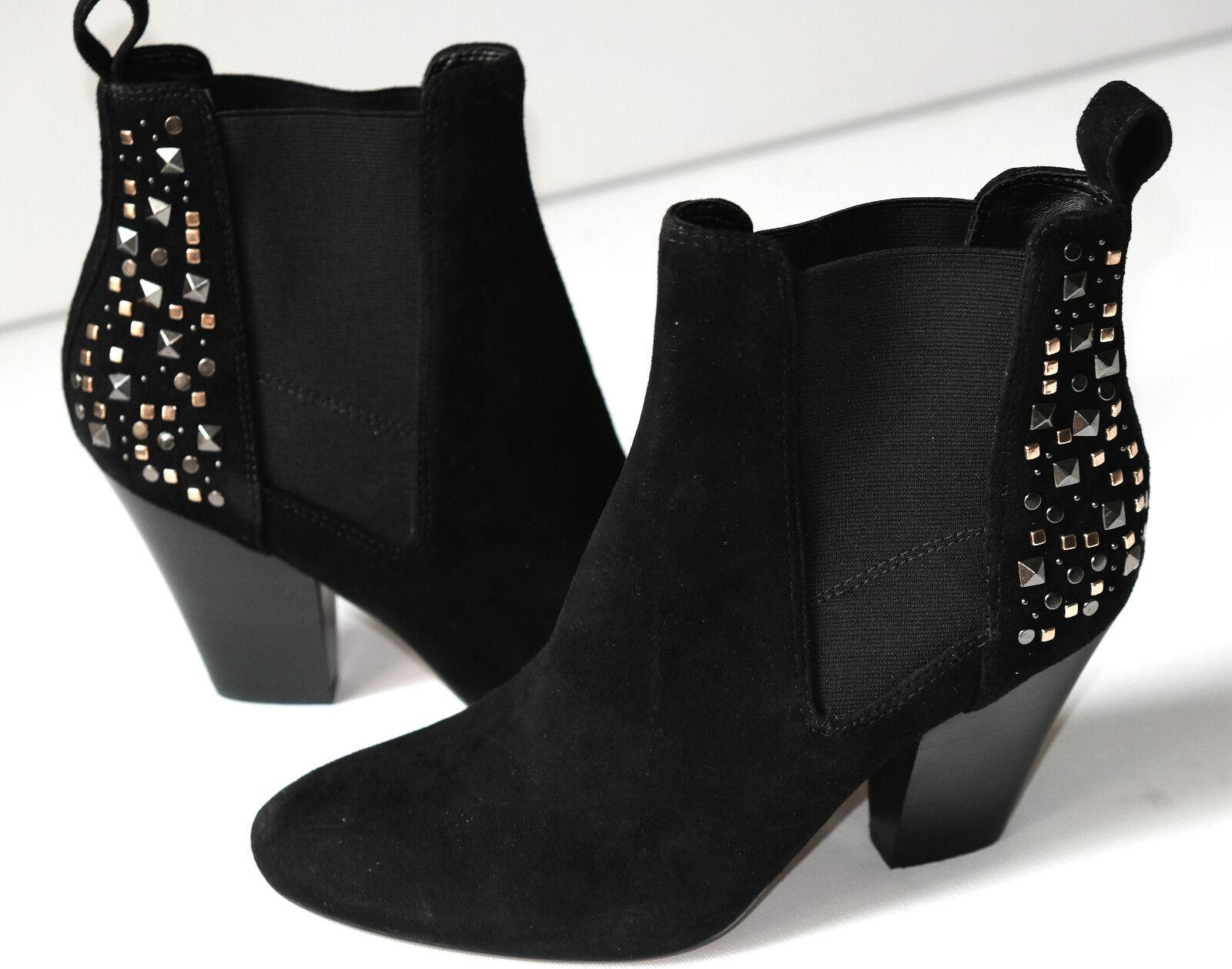 Clarks Ellis Tangle Black Suede Ladies Ankle Boots 5/38 D RRP £70