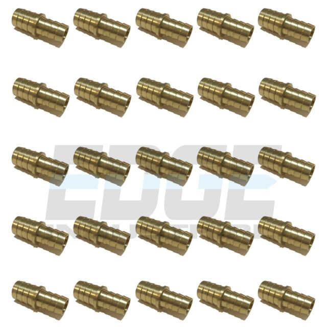 """5//8/"""" Hose Barb Mendor Union Splicer Brass Pipe Fitting Gas Fuel Air 10 Pack"""