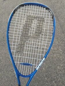 Prince F3 Blast Squash Racquet Force 3 Raquette Utilisé Aucun Abus-afficher Le Titre D'origine