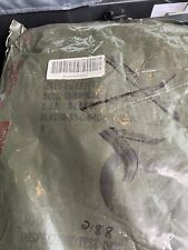 Military Us Camouflage Chemical Protective Suit Sealed Bag X Large 1988