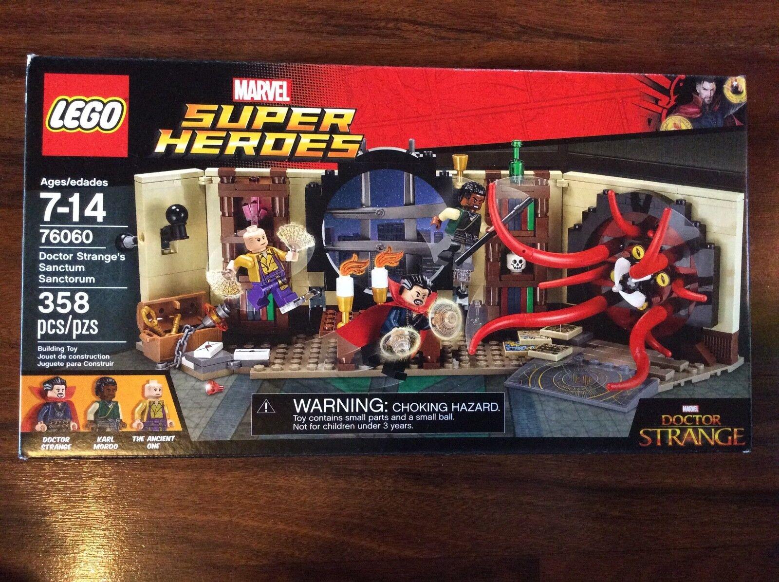 Nuovo Lego Super Heroes Doctor Strange's Sanctum Sanctorum Set 76060 Damaged Box