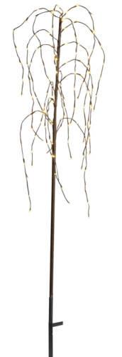 STAR LED Weeping Willow Leucht Zweig Baum Weide 1,5 m Außen Garten Lichter Deko