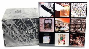 led zeppelin complete studio recordings new cd box set ships from the usa ebay. Black Bedroom Furniture Sets. Home Design Ideas