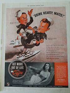 1942-Pan-American-coffee-Bureau-Joan-Bennett-Red-Skelton-Fred-Allen-cartoon-ad