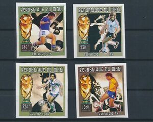 LO08926 Mali imperf football cup soccer fine lot MNH