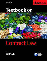 Textbook on Contract Law by Jill Poole (Paperback, 2016)