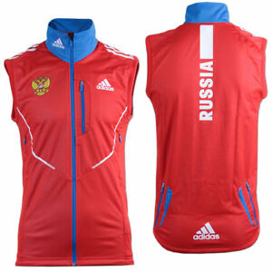 fd22e55a411b Das Bild wird geladen adidas-Gore -Athleten-Weste-Outdoor-Russia-Fitness-Running-