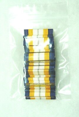 25 service ribbons US Agency Dept of the Navy Ceremonial Duty Ribbon