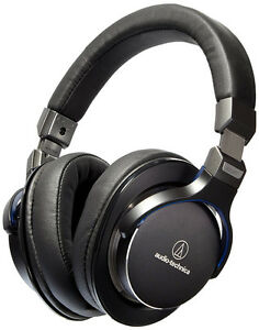 Audio-Technica ATH-MSR7BK Over-Ear High-Resolution Audio Headphones (Black)