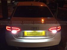 AUDI A4 B8 WHITE LED Pure Xenon White Reverse Light Bulbs Pair