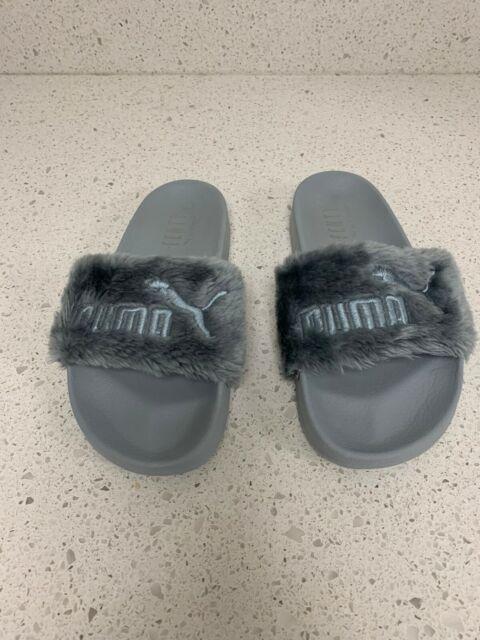 Rihanna for PUMA Faux Fur Leadcat Slide