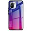miniatura 7 - COVER per Xiaomi Mi 11 Lite CUSTODIA ORIGINALE Gradient Glass + VETRO TEMPERATO