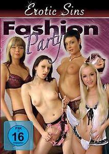 Erotic-Sins-Fashion-Party-von-Various-DVD-Zustand-sehr-gut