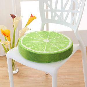 1 frucht sitzkissen obst kissen stuhlkissen rund stuhl. Black Bedroom Furniture Sets. Home Design Ideas