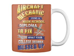 On trend Sarcastic Aircraft Mechanic Gift Coffee Mug Gift Coffee Mug