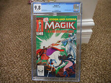 Magik 1 cgc 9.8 Marvel 1983 1st series X-Men WHITE pages movie TV show magic