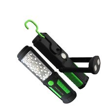 Prime-Lite 33 LED Inspection Torch Lamp Worklight Flashlight With Magnets & Hook