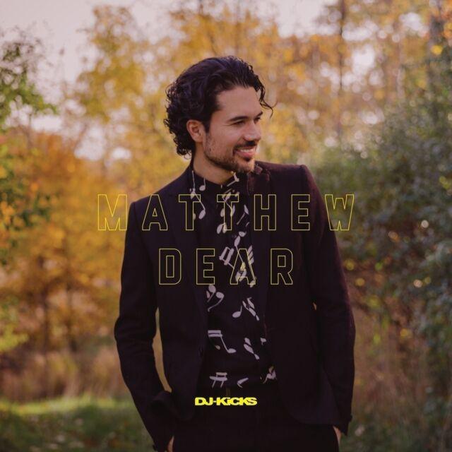 MATTHEW DEAR - DJ-KICKS Simian Mobile Disco,Randomer,Duff Disco  CD NEUF