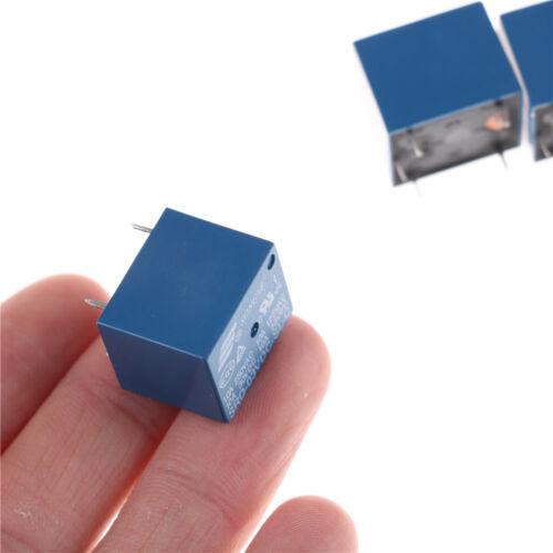 5Pcs 3V Mini  SRD-3VDC-SL-C PCB Type DC Power Relay  X ZP