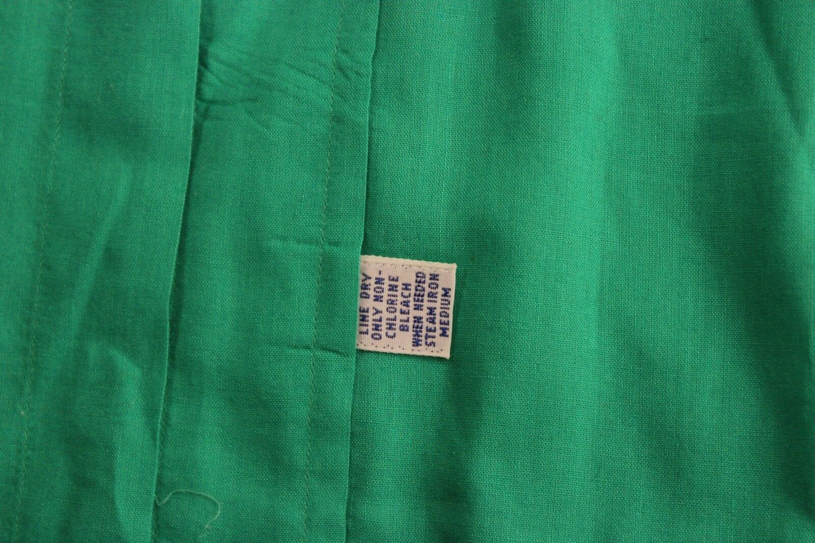 VTG 80's 90's Polo Ralph Lauren Happy Green Butto… - image 2