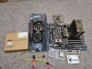 Gaming Bundle ASUS SABERTOOTH X58 Xeon X5675 CPU RAM SSD  GeForce GTX 650 Ti