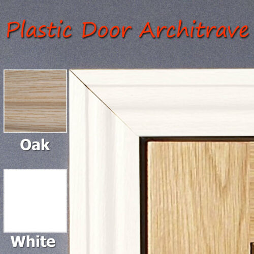 No Painting Light Weight Plastic 55mm Door Achitraves 2.2m Length Durable