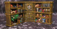 Necromancy Shelves Cupboard Thomarillion Unpainted Terrain Dwarven Forge D&D