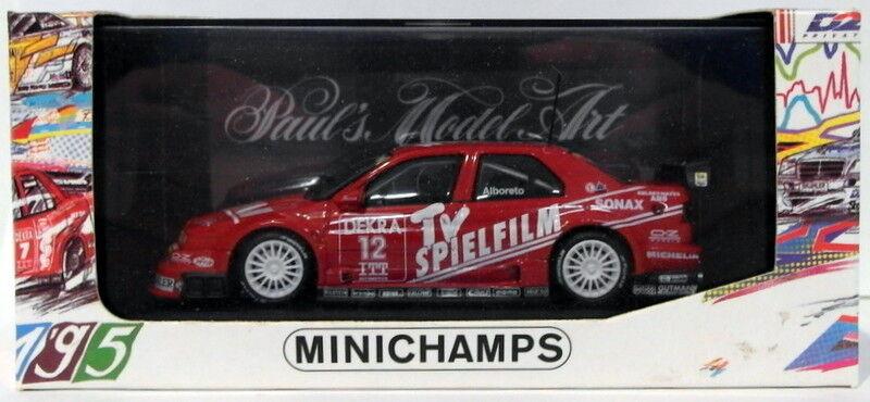 directo de fábrica Minichamps 1 1 1 43 Scale 430 950312 - Alfa Romeo 155 V6 TI DTM 1995  12 M.Alboreto  wholesape barato