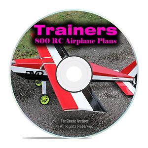 800-Trainer-RADIOCOMANDO-TELECOMANDO-Model-Aereo-piani-piani-di-formazione-DVD-I19